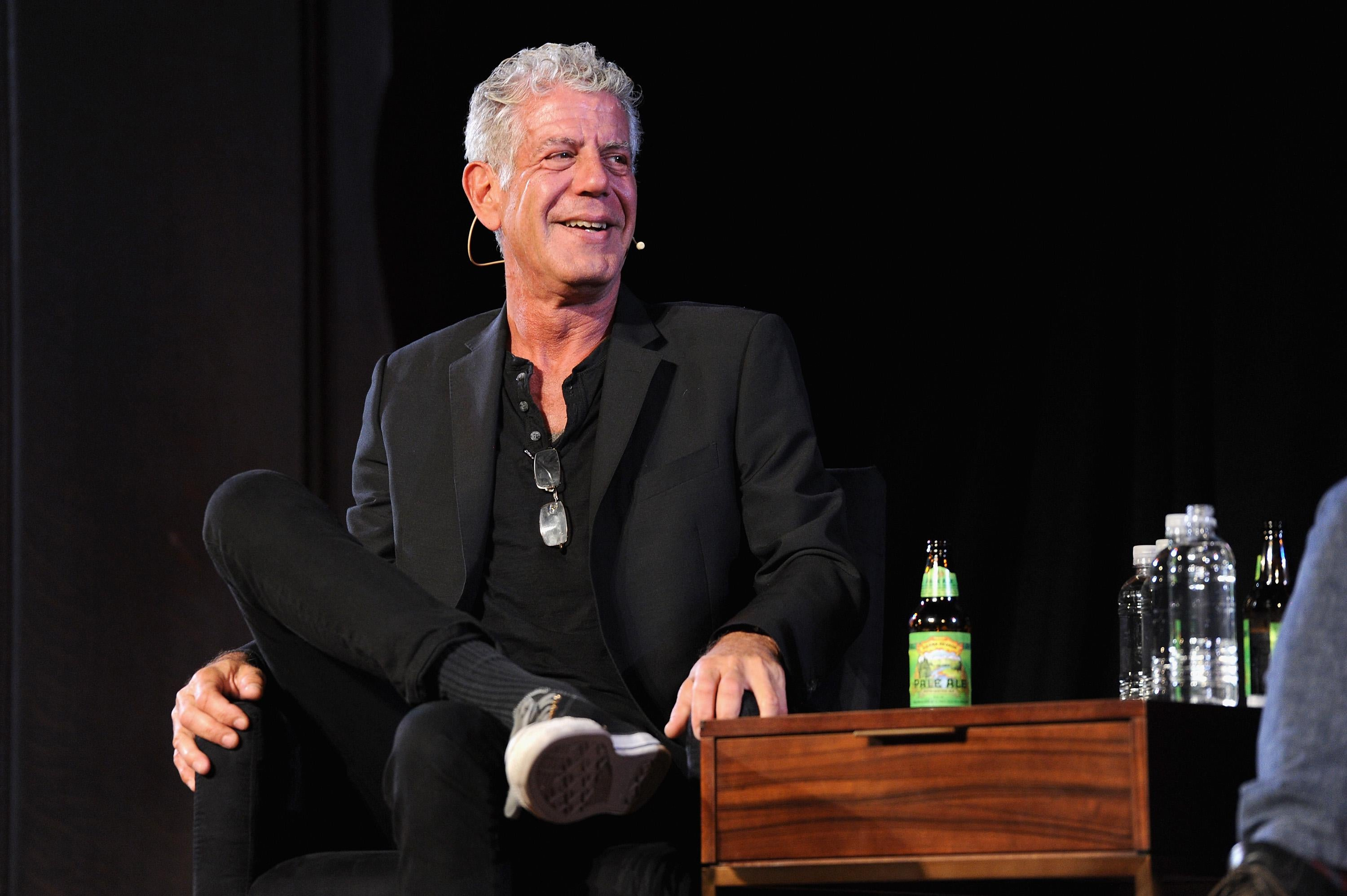 Anthony Bourdain.